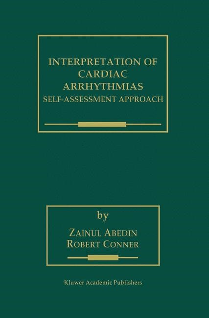 Interpretation of Cardiac Arrhythmias | Abedin / Conner, 2000 | Buch (Cover)