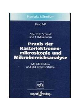 Abbildung von Schmidt | Praxis der Rasterelektronenmikroskopie und Mikrobereichsanalyse | 2., vollständig neubearbeitete Auflage | 2020