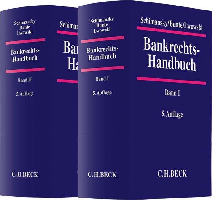 Bankrechts-Handbuch | Schimansky / Bunte / Lwowski | 5. Auflage, 2017 | Buch (Cover)