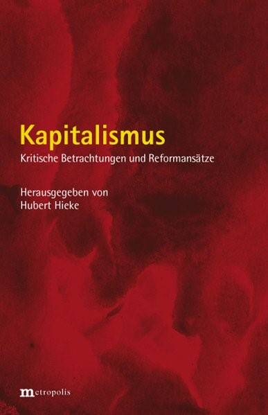 Abbildung von Hieke | Kapitalismus | 2008