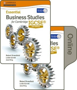 Abbildung von Dransfield / Cook / King | Essential Business Studies for Cambridge IGCSE® | 2015 | Print and Online Student Book ...