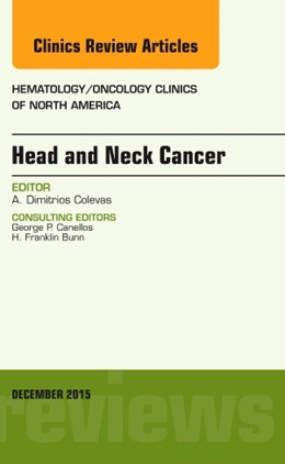 Abbildung von Colevas   Head and Neck Cancer, An Issue of Hematology/Oncology Clinics of North America   2015   29-6
