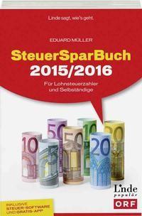 SteuerSparBuch 2015/2016 | Müller | 1. Auflage 2016, 2015 | Buch (Cover)