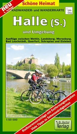Abbildung von Radwander- und Wanderkarte Halle (Saale) und Umgebung 1 : 50 000   4., Aufl   2015   Ausflüge zwischen Wettin, Land...