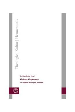 Abbildung von Senkel   Geistes Gegenwart   1. Auflage   2016   18   beck-shop.de