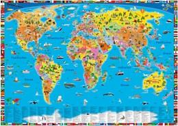 Abbildung von Illustrierte politische Weltkarte | 1. Auflage | 2015 | beck-shop.de