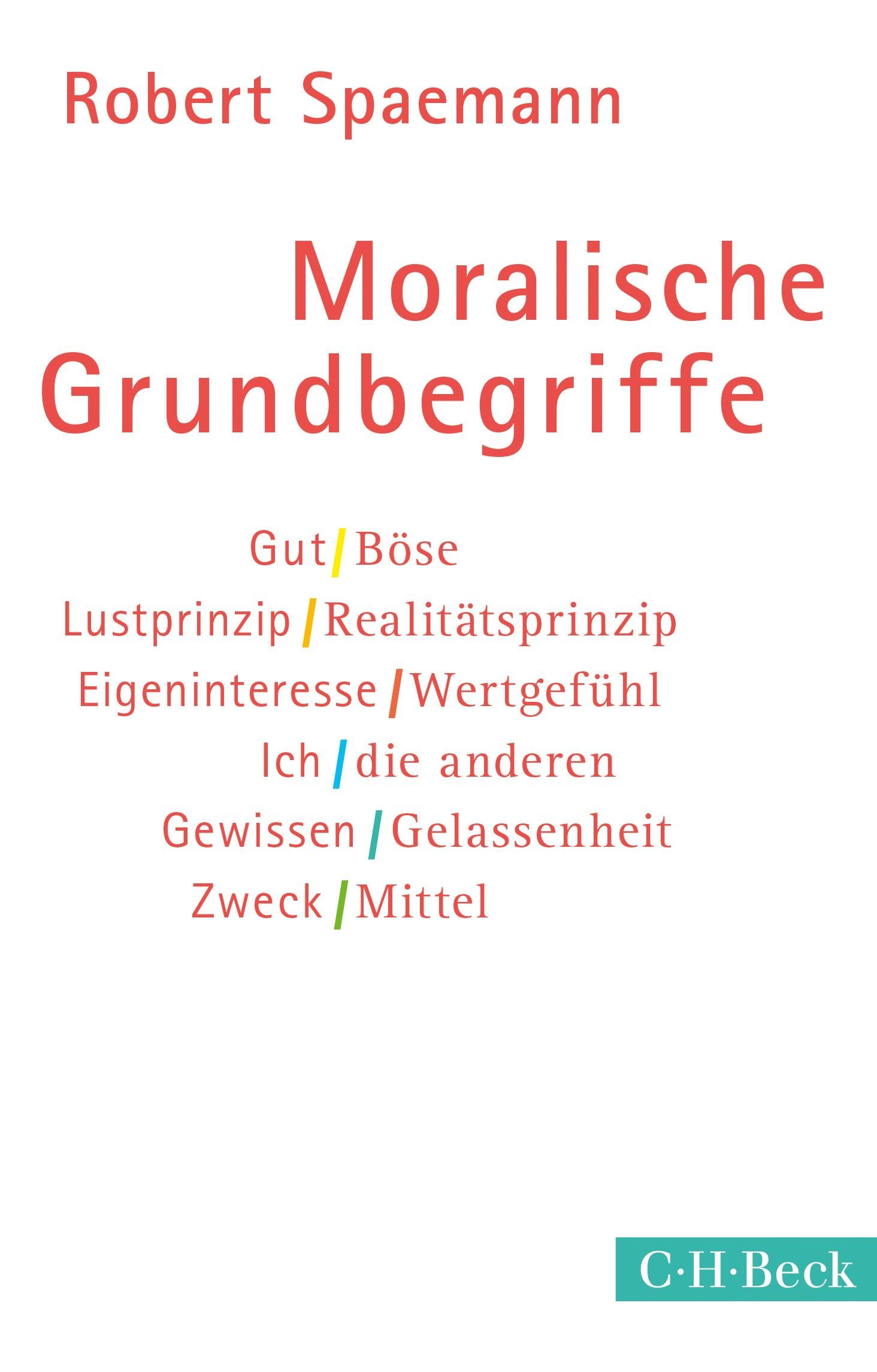 Moralische Grundbegriffe | 9. Auflage | Buch (Cover)