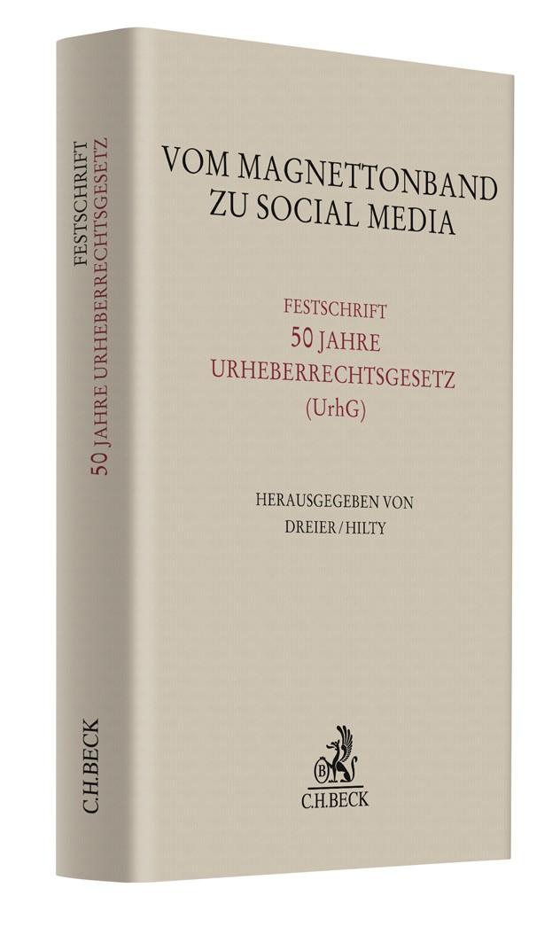Vom Magnettonband zu Social Media, 2015 | Buch (Cover)