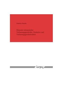 Abbildung von Parashu | Elemente indonesischer Verfassungsgeschichte, Exekutive und Verfassungsgerichtsbarkeit | 1. Auflage | 2015 | beck-shop.de