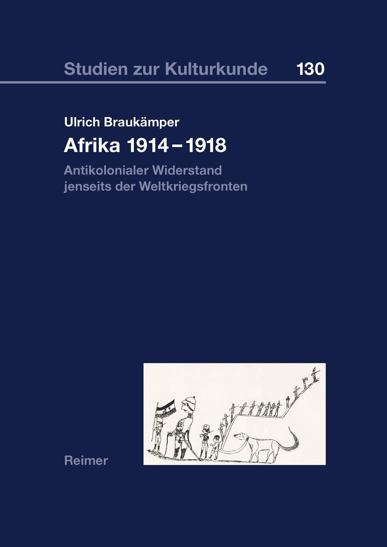 Afrika 1914–1918 | Braukämper, 2015 | Buch (Cover)