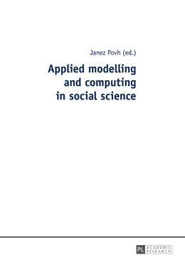 Abbildung von Povh | Applied modelling and computing in social science | 1. Auflage | 2015 | beck-shop.de