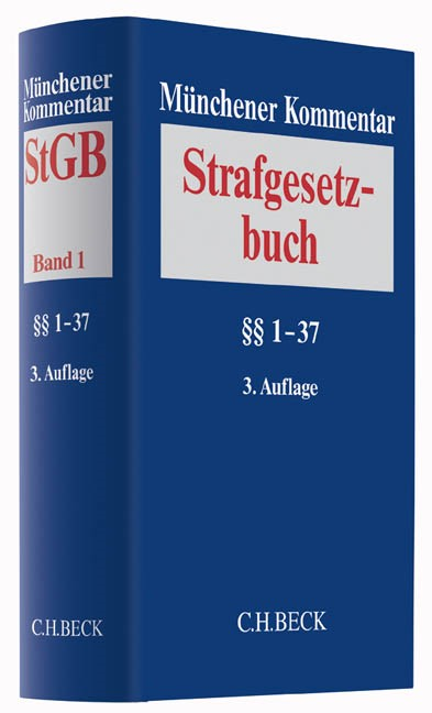 Abbildung von Münchener Kommentar zum Strafgesetzbuch: StGB,  Band 1: §§ 1-37   3. Auflage   2017