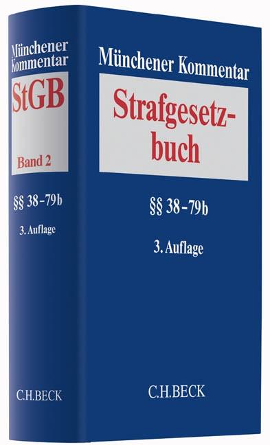Münchener Kommentar zum Strafgesetzbuch: StGB, Band 2: §§ 38-79b | 3. Auflage, 2016 | Buch (Cover)