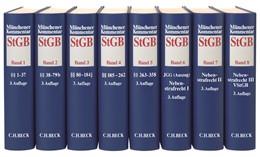 Abbildung von Münchener Kommentar zum Strafgesetzbuch: StGB | 3. Auflage | Gesamtwerk in 8 Bänden