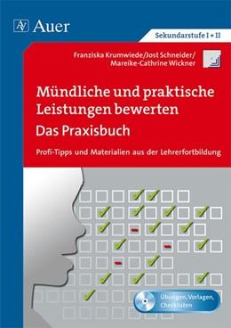 Abbildung von Krumwiede / Schneider   Mündliche und praktische Leistungen bewerten   1. Auflage   2014   beck-shop.de