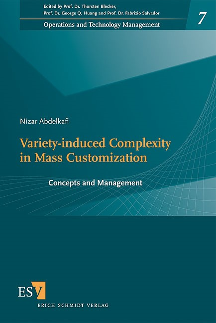 Variety-Induced Complexity in Mass Customization | Abdelkafi, 2008 | Buch (Cover)