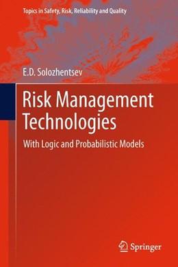 Abbildung von Solozhentsev | Risk Management Technologies | 2012 | 2012 | With Logic and Probabilistic M...