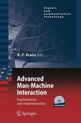 Abbildung von Kraiss | Advanced Man-Machine Interaction | 2006 | 2006 | Fundamentals and Implementatio...