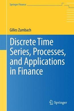 Abbildung von Zumbach | Discrete Time Series, Processes, and Applications in Finance | 2013 | 2012