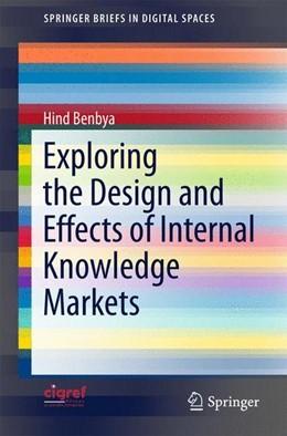 Abbildung von Benbya | Exploring the Design and Effects of Internal Knowledge Markets | 2015 | 2015
