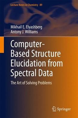 Abbildung von Elyashberg / Williams   Computer-Based Structure Elucidation from Spectral Data   2015   2015