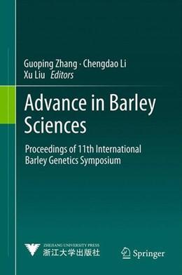 Abbildung von Zhang / Li / Liu   Advance in Barley Sciences   2013   2012   Proceedings of 11th Internatio...