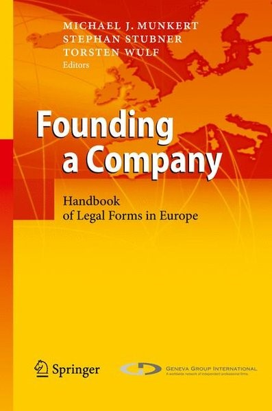 Abbildung von Munkert / Stubner / Wulf | Founding a Company | 2010 | 2010
