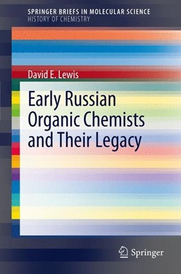 Abbildung von Lewis | Early Russian Organic Chemists and Their Legacy | 2012 | 2012