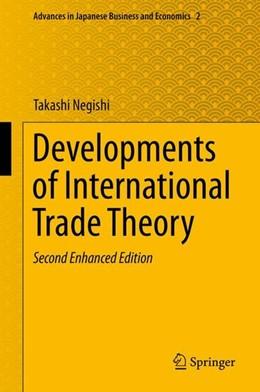 Abbildung von Negishi   Developments of International Trade Theory   2nd ed. 2014   2013