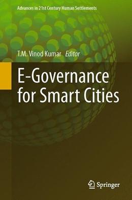 Abbildung von Vinod Kumar | E-Governance for Smart Cities | 2015 | 2014