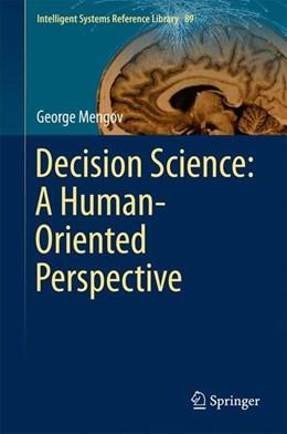 Abbildung von Mengov | Decision Science: A Human-Oriented Perspective | 2015 | 2015