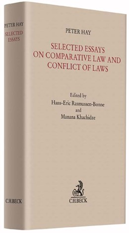 Abbildung von Hay | Selected Essays on Comparative Law and Conflict of Laws | 2015