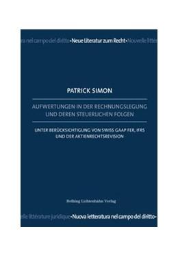 Abbildung von Simon | Aufwertungen in der Rechnungslegung und deren steuerlichen Folgen | 1. Auflage | 2015 | beck-shop.de