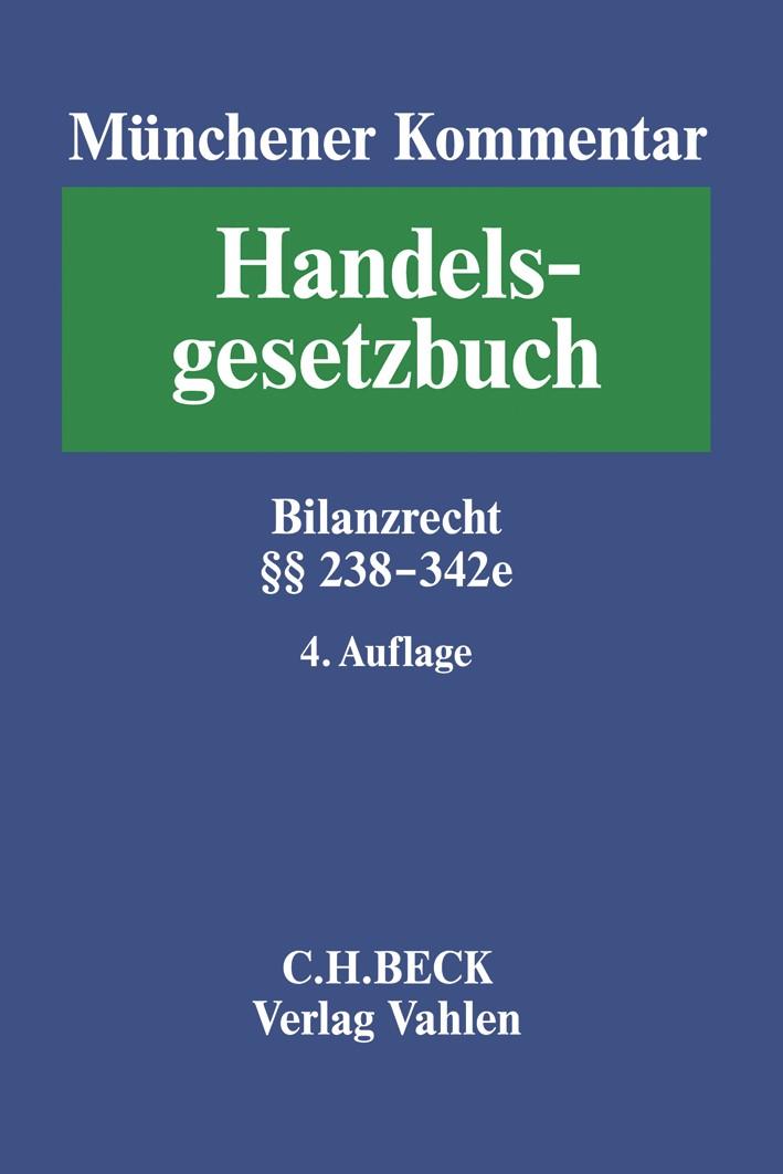 Abbildung von Münchener Kommentar zum Handelsgesetzbuch: HGB,  Band 4: Drittes Buch. Handelsbücher § 238-342e HGB | 4. Auflage | 2020