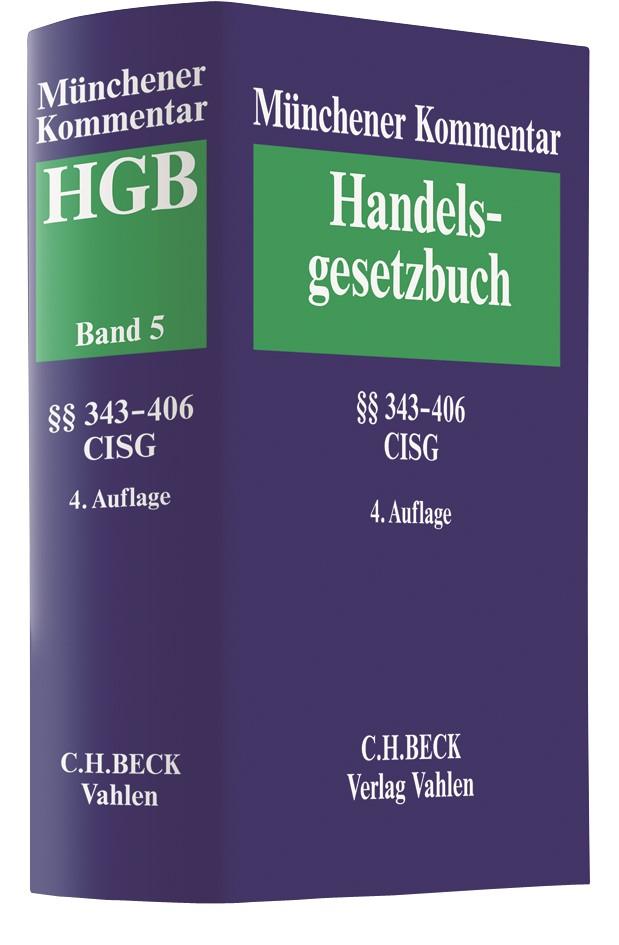 Münchener Kommentar zum Handelsgesetzbuch: HGB, Band 5: Viertes Buch. Handelsgeschäfte | 4. Auflage, 2018 | Buch (Cover)