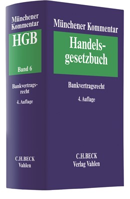 Abbildung von Münchener Kommentar zum Handelsgesetzbuch: HGB, Band 6: Bankvertragsrecht | 4. Auflage | 2019 | beck-shop.de