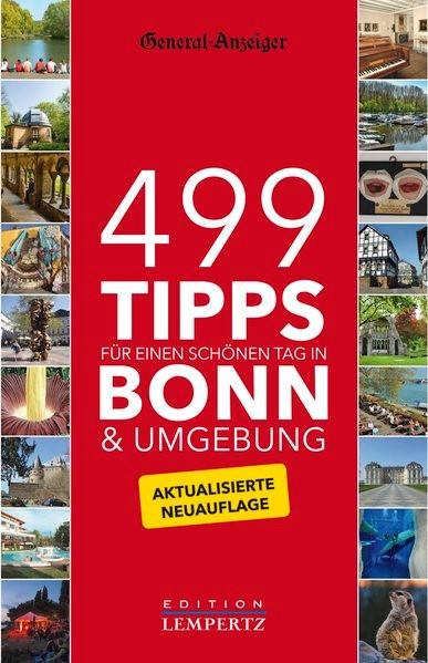 499 Tipps für einen schönen Tag in Bonn & Umgebung, 2015 | Buch (Cover)