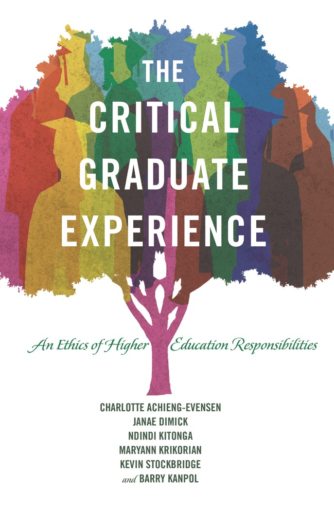 The Critical Graduate Experience | Achieng-Evensen / Dimick / Kitonga, 2015 | Buch (Cover)