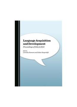Abbildung von Hamann   Language Acquisition and Development   1. Auflage   2015   beck-shop.de