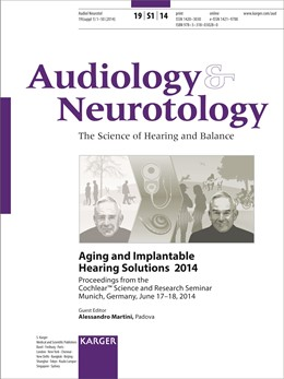 Abbildung von Martini | Aging and Implantable Hearing Solutions 2014 | 2015 | Cochlear™ Science and Research...