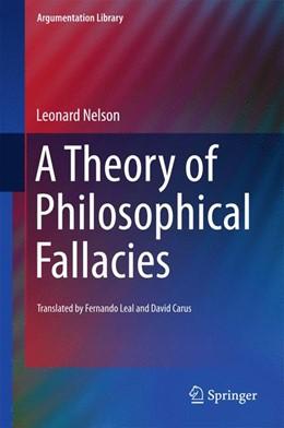 Abbildung von Nelson | A Theory of Philosophical Fallacies | 1st ed. 2016 | 2015 | 26