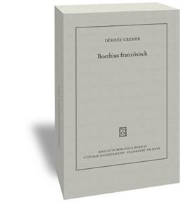 Abbildung von Cremer | Boethius französisch | 1. Auflage | 2015 | 85 | beck-shop.de