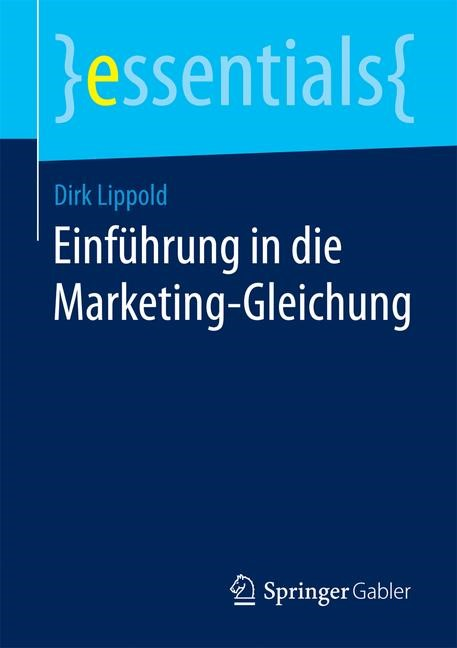 Einführung in die Marketing-Gleichung | Lippold | 2015, 2015 | Buch (Cover)