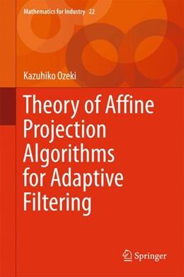 Abbildung von Ozeki | Theory of Affine Projection Algorithms for Adaptive Filtering | 1. Auflage | 2015 | 22 | beck-shop.de