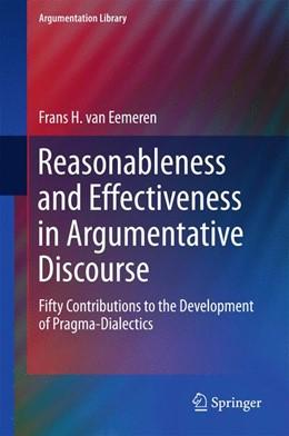 Abbildung von van Eemeren | Reasonableness and Effectiveness in Argumentative Discourse | 1st ed. 2015 | 2015 | Fifty Contributions to the Dev... | 27