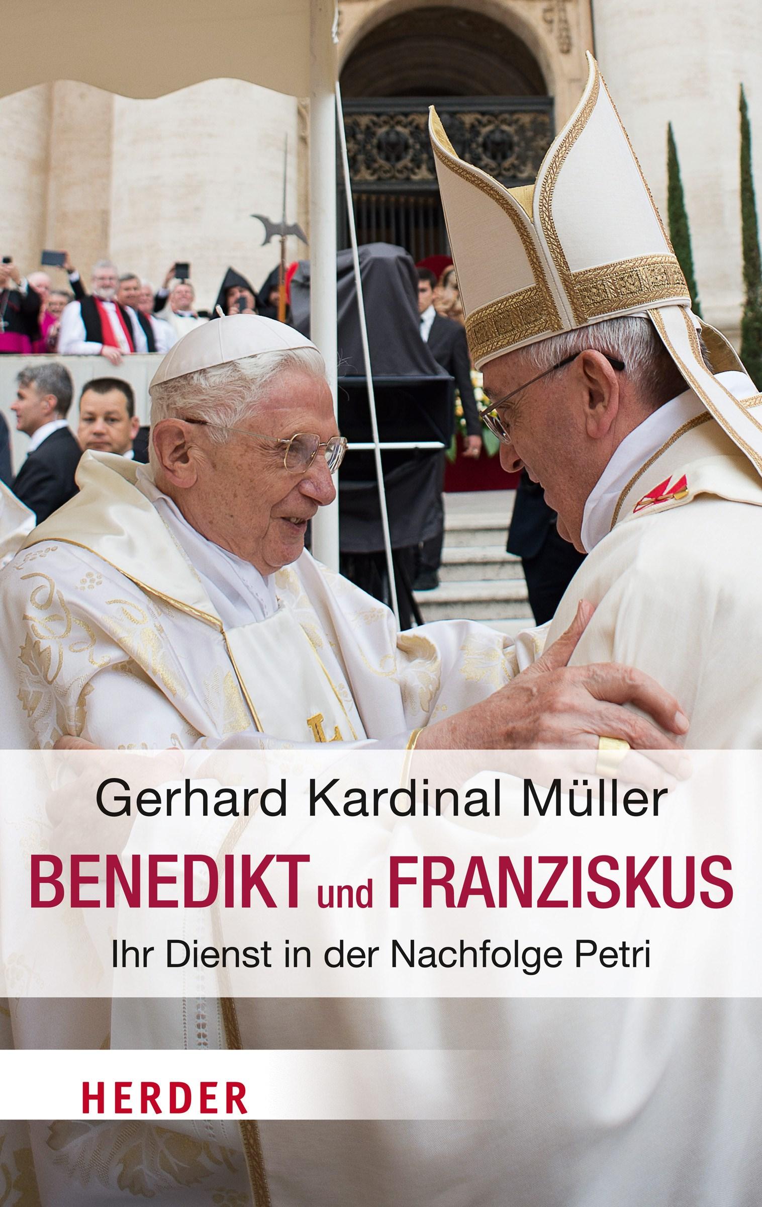 Benedikt & Franziskus | Müller, 2015 | Buch (Cover)