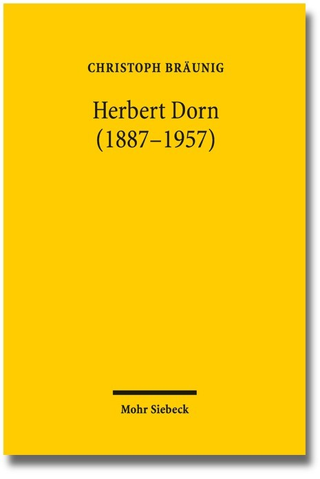 Herbert Dorn (1887-1957) | Bräunig, 2016 | Buch (Cover)
