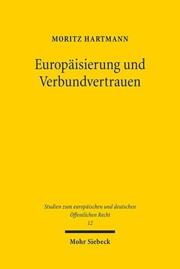 Abbildung von Hartmann   Europäisierung und Verbundvertrauen   1. Auflage   2015   12   beck-shop.de