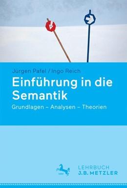 Abbildung von Pafel / Reich   Einführung in die Semantik   1. Auflage   2016   beck-shop.de