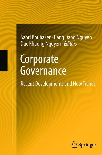 Corporate Governance | Boubaker / Nguyen | 2012, 2015 | Buch (Cover)